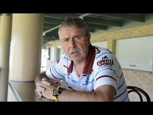 Gympie Diggers coach Eric Thompson