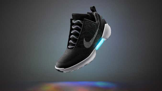 Nike's new self tying shoes