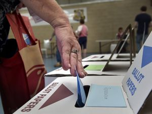 Voting at Newtown State School