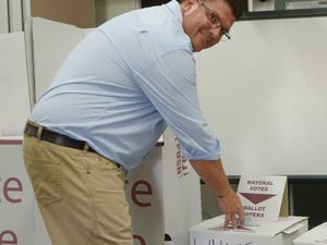 Mayoral candidate of Team McMillan has his vote