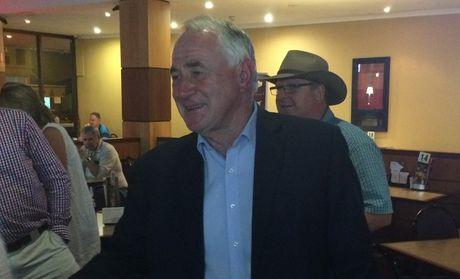 Paul Antonio celebrates winning the mayoral election.