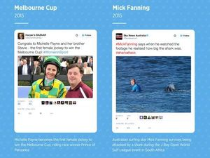 Top ten Aussie sporting moments for Twitter's tenth birthday