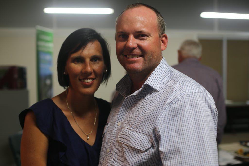 Michelle and Robbie Radel Photo Tobi Loftus / Central & North Burnett Times