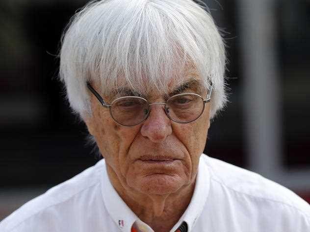Bernie Ecclestone, Chief Executive for the Formula One Group, prior to the Emirates Formula One Grand Prix at the Yas Marina racetrack in Abu Dhabi, United Arab Emirates, Sunday, Nov. 29, 2015.