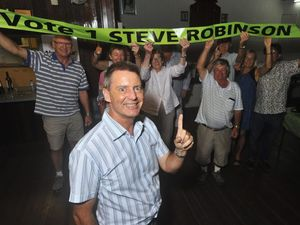 Robinson's confidence building in Division Nine vote count