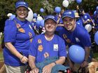 The Drewe family, Carol, Mal and Ben Drewe. Walk to D-Feet MND. Queens Park. March 20, 2016