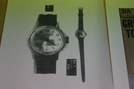 Marilyn Wallman's watch.