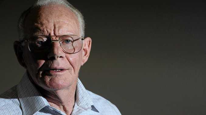 John Heffernan has written yet another book. Photo JoJo Newby / The Daily Examiner