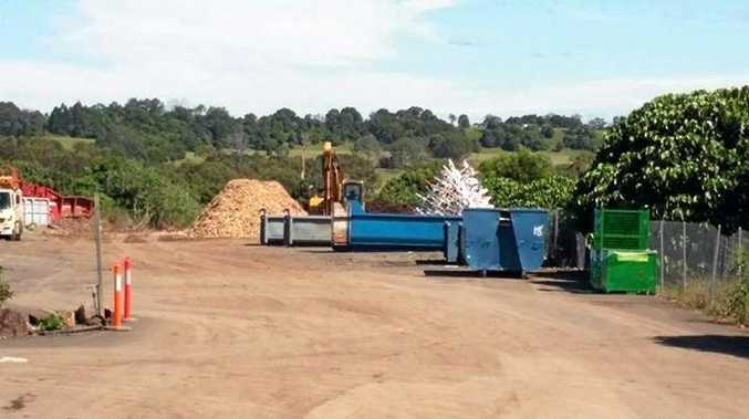 TIP OFF: Lismore's celebrated recycled Christmas tree may be at the tip but  it  will be stored and recycled soon.