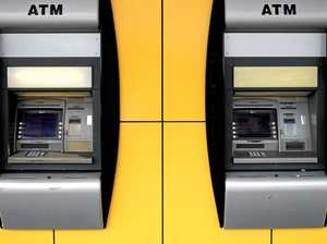 Walls shake, goods fly off shelves as man rams car into ATM