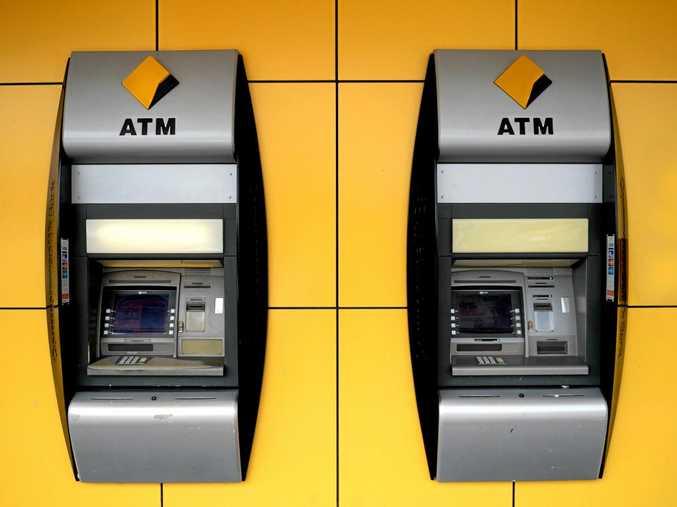 ATM generic Commonwealth Bank Photo Allan Reinikka / The Morning Bulletin