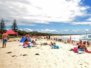 Evans beach closed while clean up job undertaken