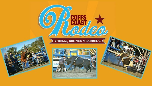 The Coffs Coast Rodeo is being held at the Coffs Harbour Showground on Saturday, April 2.