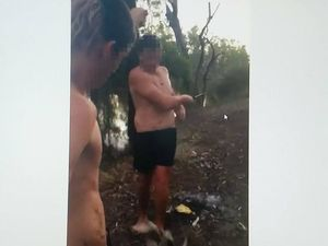 Teenagers mutilate native turtle, videos shared via app