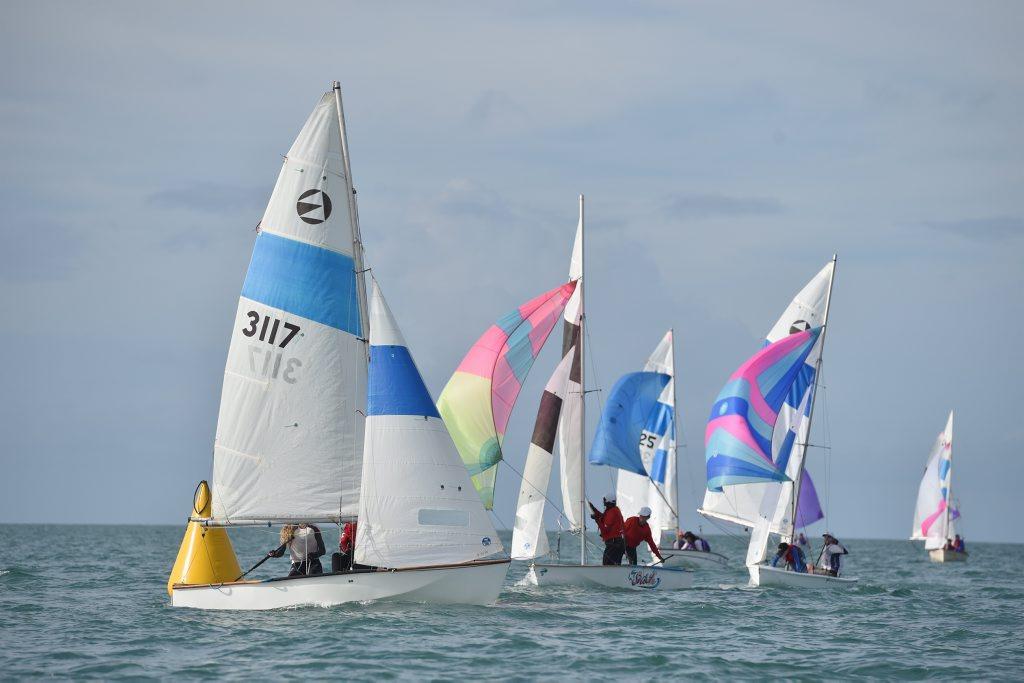 Maryborough Sailing Club Easter Regatta - Georgia Burns and Delphine Shawcross on