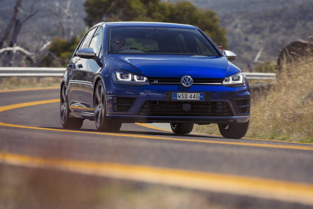 RAPID RESPONSE: VW Golf R would make an assured all-wheel-drive police car.