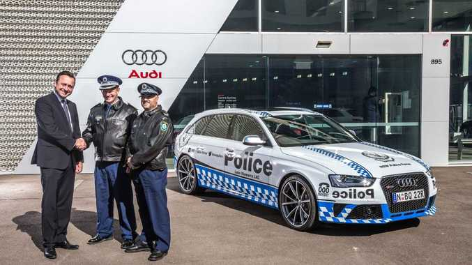Just be grateful they didn't opt for a fleet of these Audi RS4 Avants...
