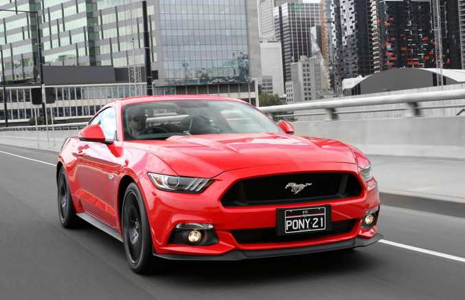 2016 Ford Mustang. Photo: Contributed