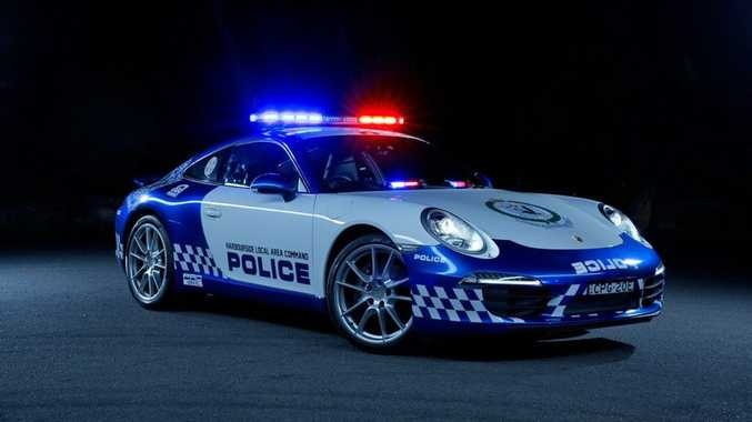 RESPECT THE LAW: Is a Porsche 911 Carrera suitable as a pursuit car for Australian police?