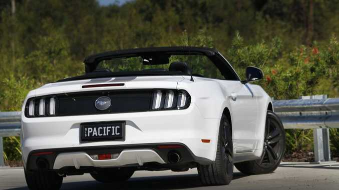 2016 Ford Mustang Convertible. Photo: Iain Curry / Sunshine Coast Daily
