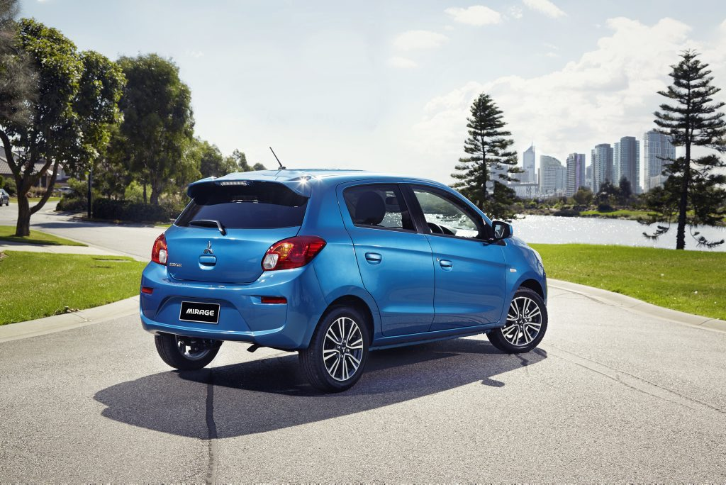 2016 Mitsubishi Mirage. Photo: Contributed