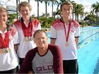 Bundy swimmers turn up the heat in the pool