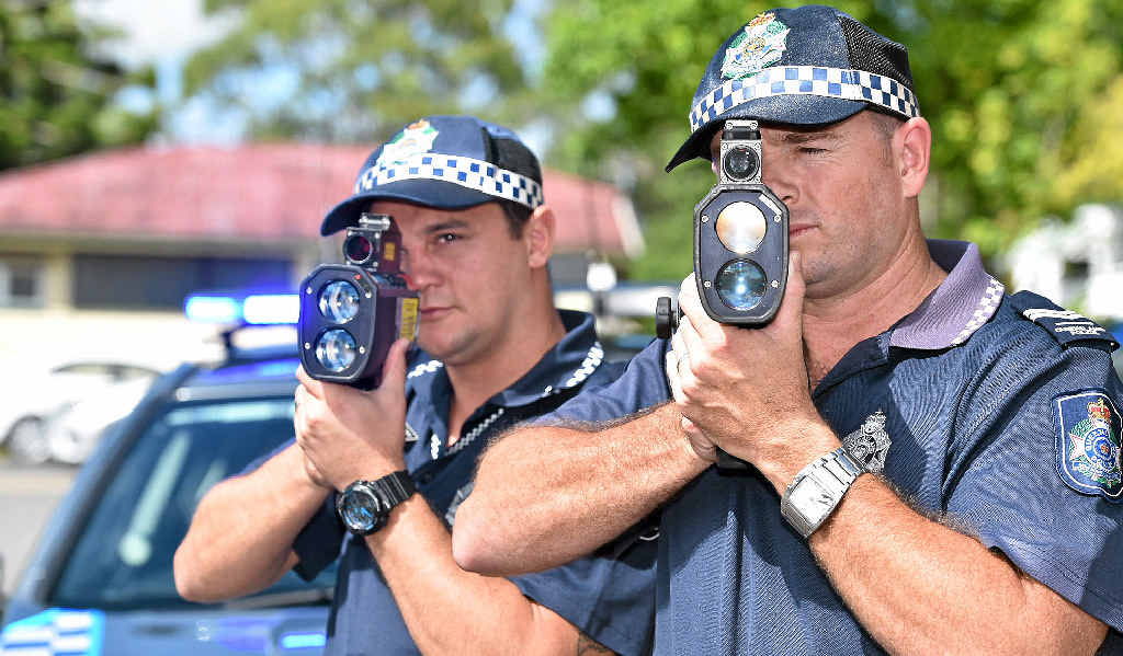 SLOW DOWN: Fraser Coast police will be out in force over the Easter break paying particular attention to speeding drivers.