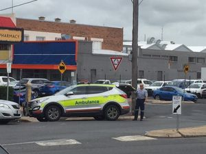 Woman may have fractured ribs after assault near CBD chemist