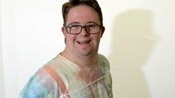 BIG ABILITY: Nathan Johnston can't wait to get back on stage after the Night of Abilities.