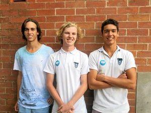 Grafton High boys lose locks for good cause