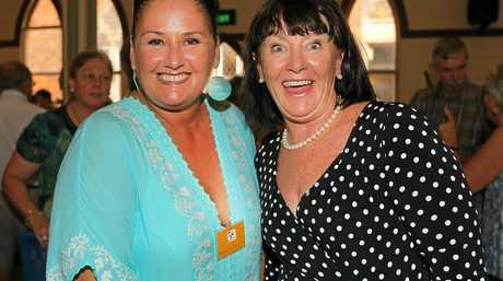 Murwillumbah's Mount Saint Patricks School 50th year anniversary. Michelle Van Den Broek (1990) and Kathy Smith (1971-82).