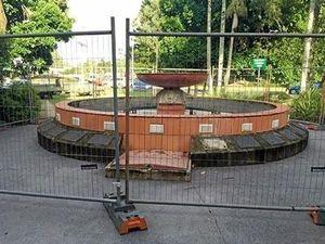Lismore fountain restoration work finally starts