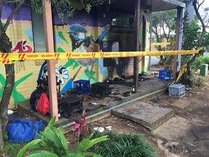 True story behind Byron homeless 'fire bomb'