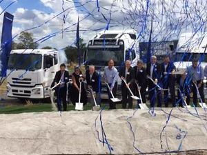 Volvo Group Australia's ground breaking ceremony