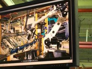 Volvo Group Australia's Wacol plant robot