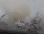 Car caught in tornado