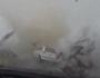 WATCH: Near miss for motorist as tornado sneaks past