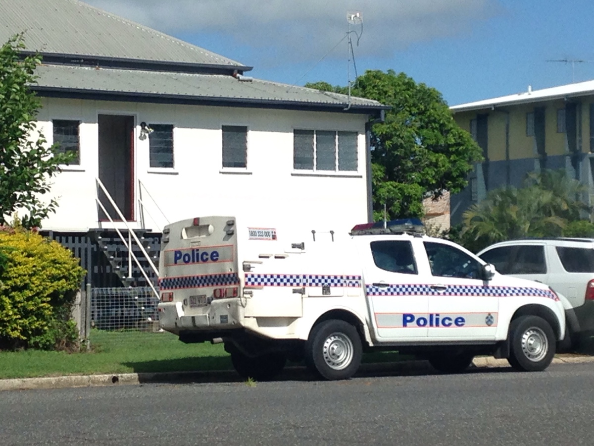 Police at the scene of an alleged intruder attack in Allenstown