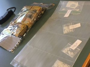 North Mackay man found with taser, ice and $56,000 in cash