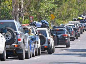 Camping chaos: 800 cars expected up the beach for Easter