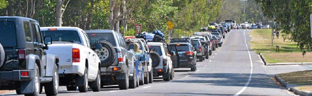 GET SET TO WAIT: If you're heading to Noosa's north shore, you won't be alone. Locals are urging visitors to go easy on the pippies.