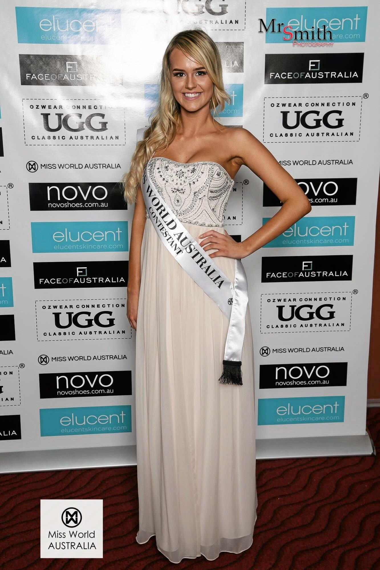 ON A MISSION: Carlie Shipman will compete in the Queensland finals of Miss World Australia.