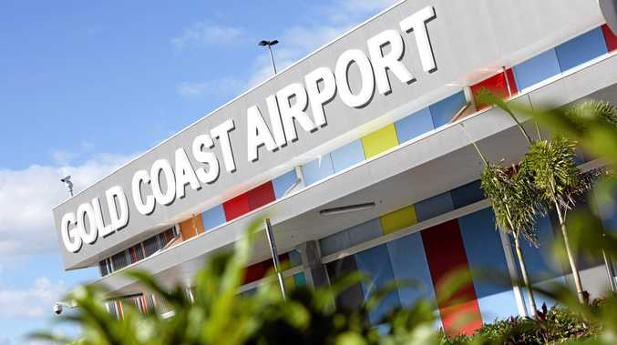 The entrance to Gold Coast Airport. Photo supplied by airport for repeated editorial use.