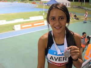 Nathalie breaks personal best to claim silver at nationals