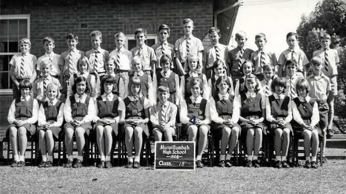 Murwillumbah High School class 1 B, 1st form of 1966