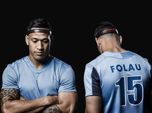 Israel Folau puts concussion brainBAND to the test