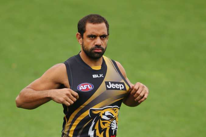 Chris Yarran's calf issues have followed him from Carlton to Richmond, and so too has criticism. Photo: Getty Images.