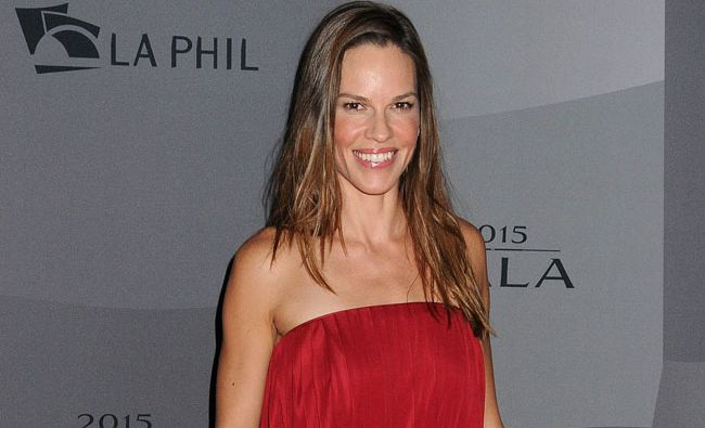Hilary Swank is engaged after Ruben Torres proposed to her during a romantic hike.