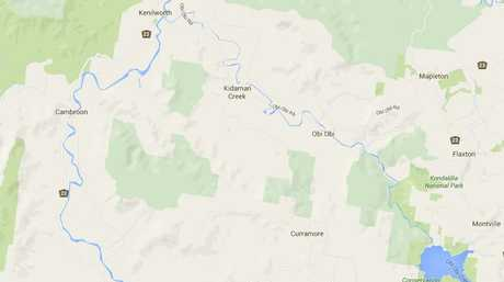 Maleny-Kenilworth Rd passes through Witta, Elaman Creek, Conondale and Cambroon.