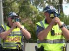 Police radar guns